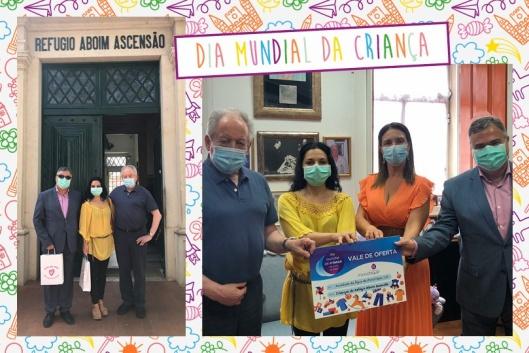 Água Monchique entrega donativo ao Refúgio Aboim Ascensão