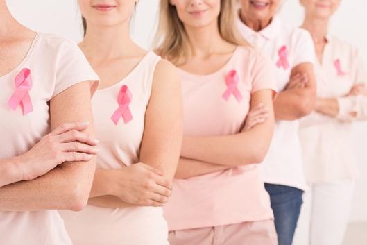 Consumidora que superou o cancro de mama