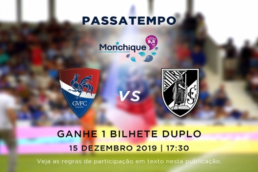 Oferta bilhetes para o Gil Vicente FC vs  Vitória SC