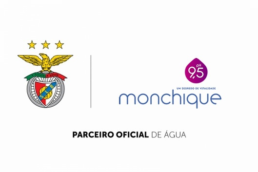 Água Monchique é a Água Oficial do SL Benfica