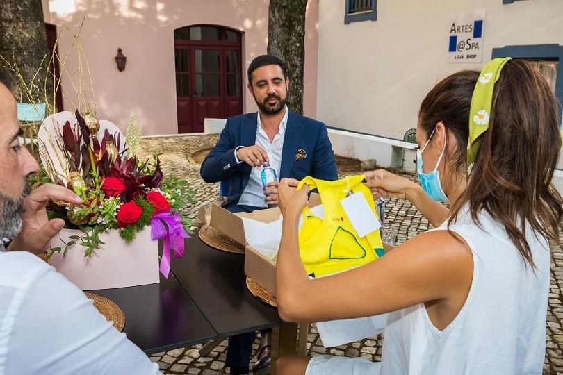 Cuca Roseta visita Água Monchique