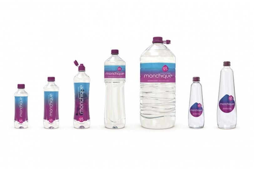 Quantos tipos de embalagens tem a Monchique?