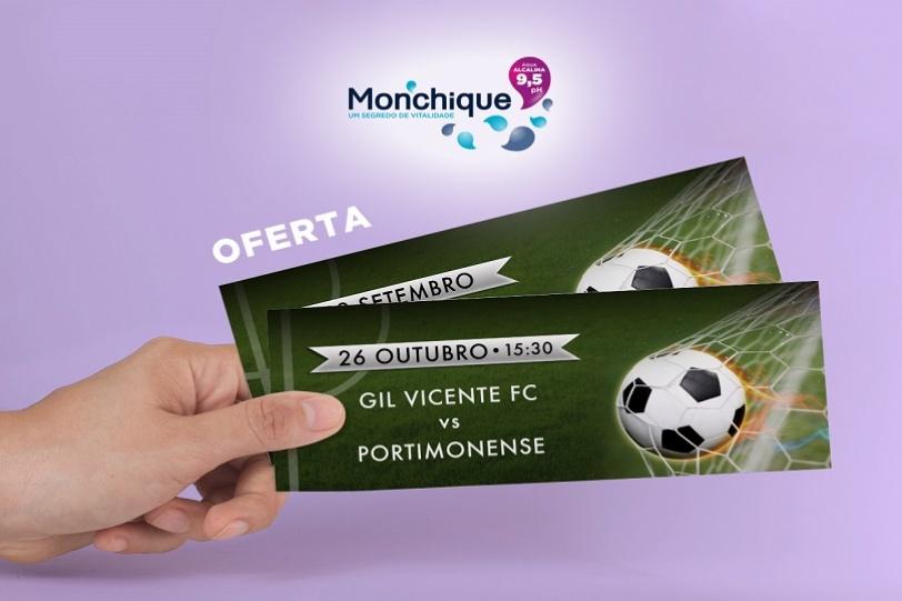 Passatempo jogo Gil Vicente FC vs Portimonense SC