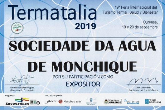 A Sociedade da Água Monchique na Termatália 2019
