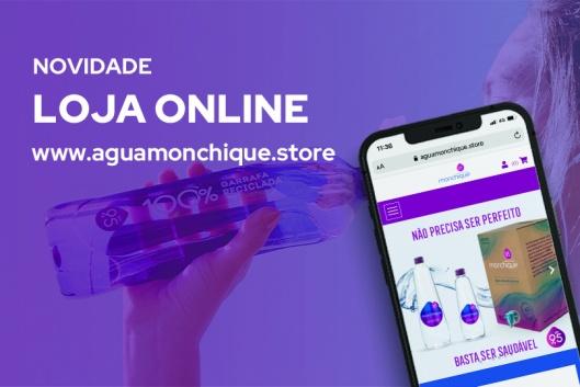 Água Monchique lança loja online