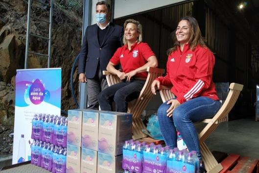 Telma Monteiro e Bárbara Timo visitam Água Monchique