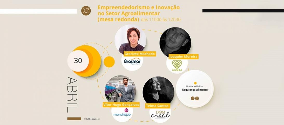 Água Monchique no webinar Empreendedorismo e Inovação no Setor Agro-Alimentar