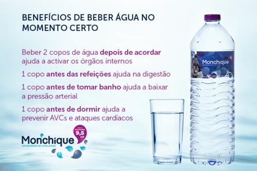 Beber água na altura certa