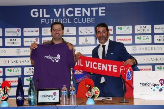 Água Monchique renova parceria com o Gil Vicente Futebol Clube