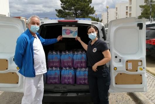 Água Monchique apoia profissionais de saúde e IPSS de Loulé