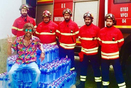 Apoio aos Bombeiros de Montemor-o-Novo