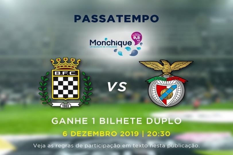 Oferta de bilhetes- jogo Boavista FC vs SL Benfica